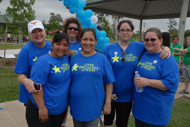 Liver Specialists of Texas-Staff Outing and Liver Awareness